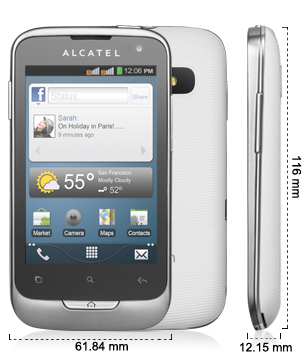 Alcatel ONE TOUCH 985/985D Add to compare